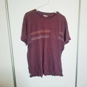 Katin USA Maroon XL Stitch T-Shirt Cotton Pullover